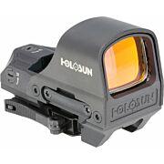 HOLOSUN ELITE OPEN REFLEX W/ SOLAR GREEN RETICLE W/QD MOUNT