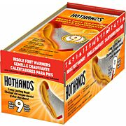 HOTHANDS INSOLE FOOT WARMER 16 PAIRS 9 HOUR W/ ADHESIVE