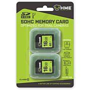 HME SD MEMORY CARD 16GB 2PK