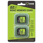 HME SD MEMORY CARD 32GB 2PK