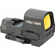 HOLOSUN OPEN REFLEX W/SOLAR DUAL RETICLE QUICK DETACH LED