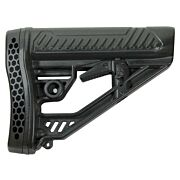ADAPTIVE TACTICAL STOCK AR-15 MIL-SPEC POLYMER BLACK