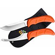 OUTDOOR EDGE JAEGER-PAIR SKINNING/GUTTING KNIFE COMBO