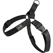 """US TACTICAL K9 HARNESS LARGE UP TO 27-43"""" BLACK"""