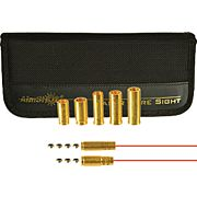AIMSHOT BORE SIGHT 9MM/30 CARBINE & 5 PISTOL CAL ARBORS