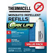 THERMACELL REFILL MAX LIFE 48 HOURS W/MAX LIFE MAT ODERLESS