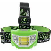 PROMIER 200 LUMEN HEADLAMP 4 MODE GREEN BODY/WHITE LIGHT