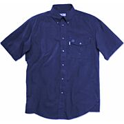 BERETTA SHOOTING SHIRT SMALL SHORT SLEEVE COTTON BLUE