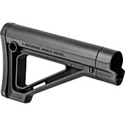 MAGPUL STOCK MOE FIXED AR15 CARBINE COMMERCIAL TUBE BLACK
