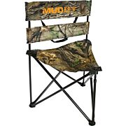 MUDDY FOLDING TRIPOD GROUND SEAT EPIC CAMO 250LB RATING