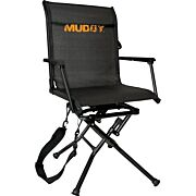 MUDDY SWIVEL-EASE FOLDING GROUND SEAT W/FLEX TEK SEAT