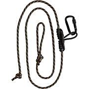 MUDDY SAFETY HARNESS LINEMAN'S ROPE W/CARABINER & PRUSIK KNOT