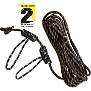 MUDDY LIFE-LINE 30' W/ DOUBLE ROPE LOOPS REFLECTIVE ROPE