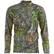 NOMAD NWTF MEN'S 1/4 ZIP MOSSY OAK OBSESSION SMALL