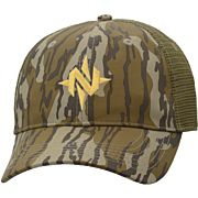 NOMAD CAMO LOW COUNTRY TRUCKER MESH BACK HAT MO BOTTOMLAND