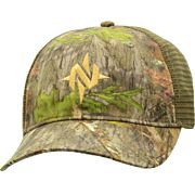 NOMAD CAMO LOW COUNTRY TRUCKER MESH BACK HAT MO OBSESSION