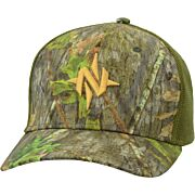 NOMAD N MARK CAMO STRETCH TRUCKER HAT MO OBSESSION M/L