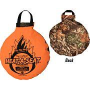 "NEP HEAT-A-SEAT 17"" DIA BLAZE/MOSSY OAK"