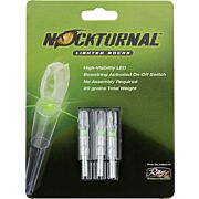 NOCKTURNAL LIGHTED NOCK G-SERIES GREEN 3/PACK
