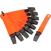 HME TRAIL MARKERS REFLECTIVE ORANGE 10PK