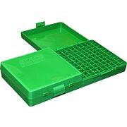 MTM AMMO BOX 9MM LUGER/.380ACP /9X18 200-ROUNDS GREEN