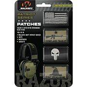 WALKERS PATRIOT PATCH KIT FOR PATRIOT MUFF COME TAKT IT 4PC