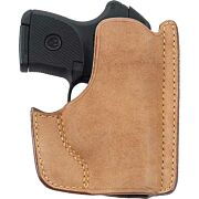GALCO FRONT POCKET HORSEHIDE HLSTER RH RUGER LCP NATURAL
