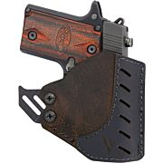 VC POCKET HOLSTER W/KYDEX HOOK LTHER RH MICRO W/ LASER BROWN