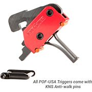 POF-USA TRIGGER 3.5LB STRAIGHT DROP-IN W/KNS PINS FOR AR-15
