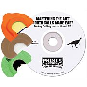 PRIMOS TURKEY CALL DIAPHRAGM PACK MTA W/INSTRUCTIONAL CD