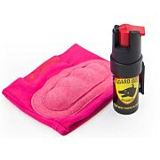 GUARD DOG INSTAFIRE EXTREME PEPPER SPRAY & KNUCKLE DEF PNK