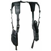 UTG HOLSTER LE VERTICAL SHOULDER HOLSTER BLACK