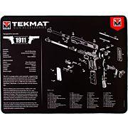 "TEKMAT ARMORERS BENCH MAT ULTRA 15""X20"" 1911 BLACK"