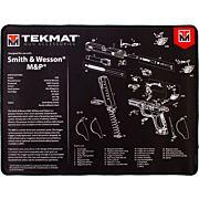 "TEKMAT ARMORERS BENCH MAT ULTRA 15""X20"" S&W MP BLACK"