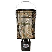 AMERICAN HUNTER FEEDER HANGING 50LB METAL HOPPER RT-AP CAMO