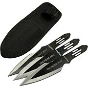 "MC PERFECT POINT 6.5"" SPEAR POINT THROWING KNIVES 3-PACK"