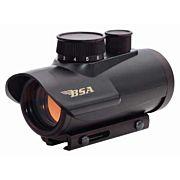 BSA 1X30MM RED DOT SIGHT 5-M.O.A. DOT BLACK MATTE