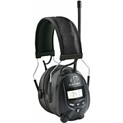 WALKERS MUFF WITH AM/FM RADIO & PHONE CONNECTION 25dB BLACK