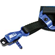 B3 ARCHERY RELEASE RIVAL DUAL JAW FLEX CONNECTOR BLACK/BLUE