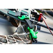 B3 ARCHERY RELEASE RIVAL DUAL JAW FLEX CONNECTOR BLACK/GREEN