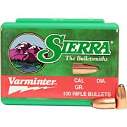 SIERRA BULLETS .22CAL .224 40GR SP 100CT