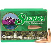 SIERRA BULLETS .22 CAL .224 55GR SP-BT 100CT