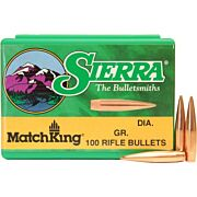 SIERRA BULLETS .22CAL .224 69GR HP-BT MATCH 100CT