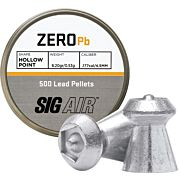 SIG PELLETS .177 ZERO 8.20GR HP TIP LEAD ALLOY 500 CT.