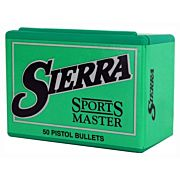 SIERRA BULLETS 9MM .355 125GR JHP 100CT