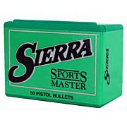 SIERRA BULLETS .38 CAL .357 125GR JHP 100CT