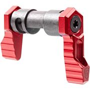 PHASE 5 SAFETY SELECTOR AMBI 90 DEGREE FOR AR-15 RED