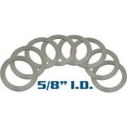 "YHM BARREL SHIM SET 5/8"" I.D. SET OF 6"