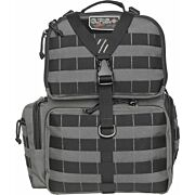 GPS TACTICAL RANGE BACKPACK W/WAIST STRAP GRAY NYLON
