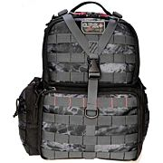 GPS TACTICAL RANGE BACKPACK W/WAIST STRAP PRYM1 BLACKOUT